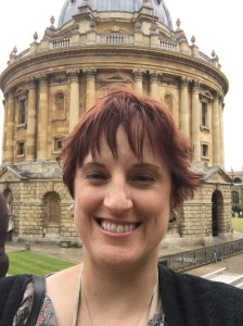 Me again, in front of the Radcliffe Camera