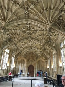The Divinity School at the Bodleian Library