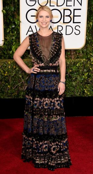 It's a sad day when Claire Danes isn't wearing the best dress in the room.