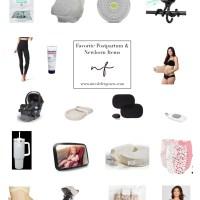 Best Newborn & Postpartum Items