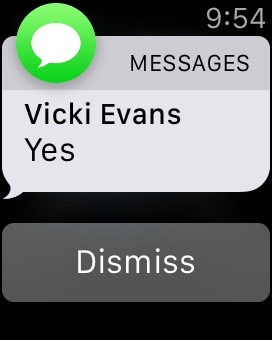 Messages: Vicki Evans: yes.