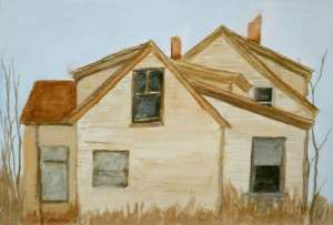 Study, for Vacant House, 2004