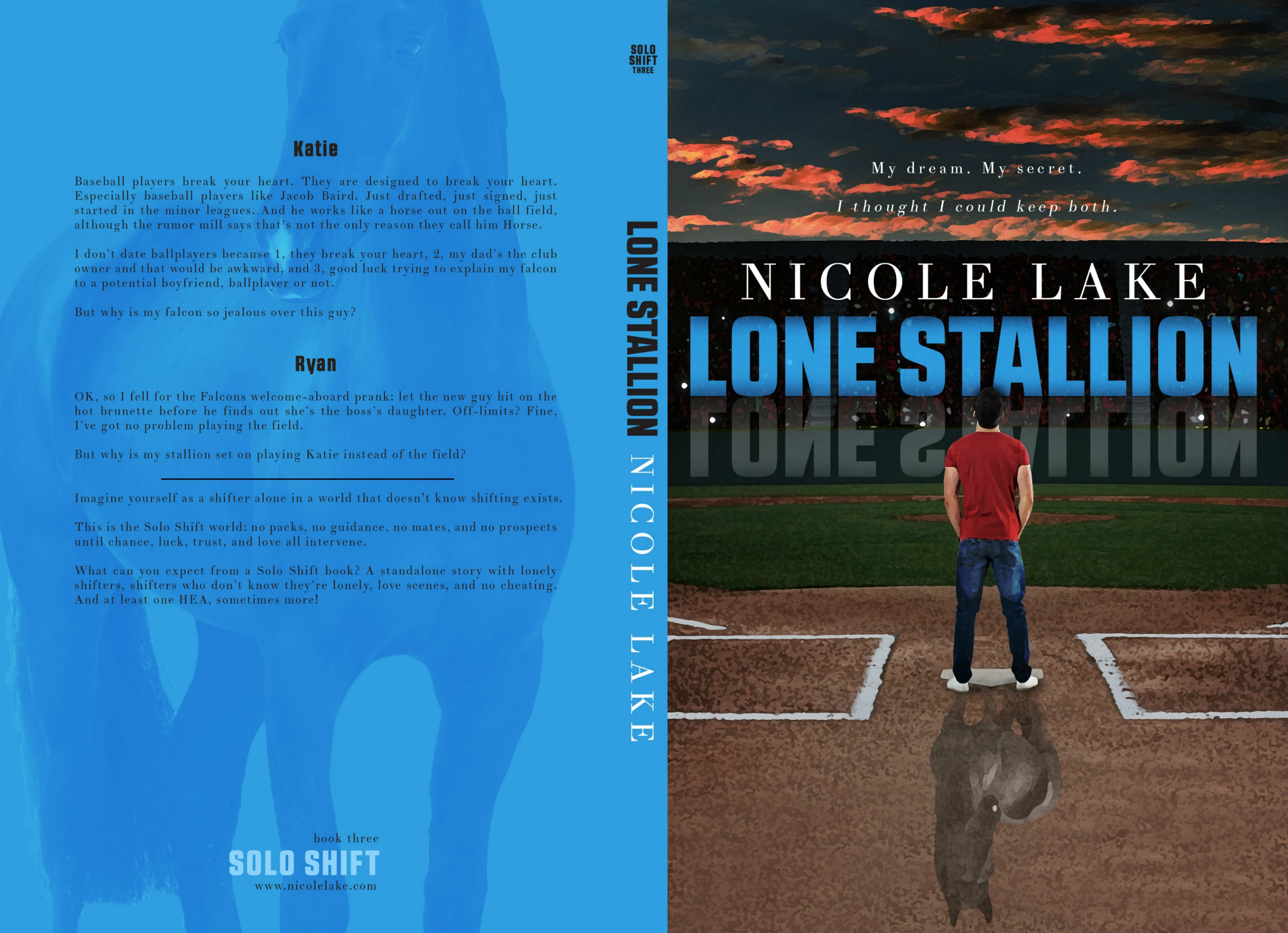 Lone Stallion paperback cover
