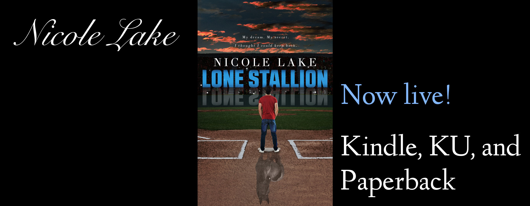 Lone Stallion is now live on Kindle, KU, and paperback!