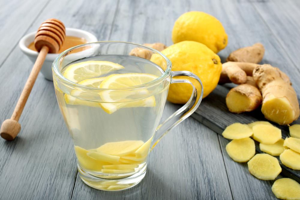 Image result for hot water lemon and ginger
