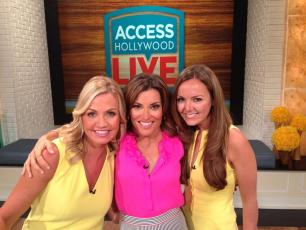 "The ladies at ""Access Hollywood Live"""