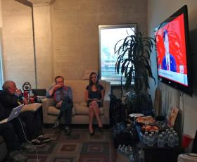 Election night coverage with Larry King