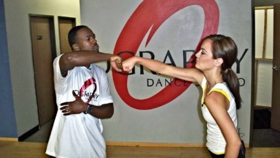 Dancing with one of Michael Jackson's dancers days after his death