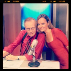 With Larry King