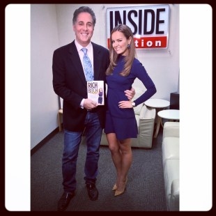 Having way too much fun with Jim Moret at Inside Edition
