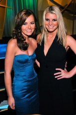 With Jessica Simpson at the Operation Smile Gala in NYC