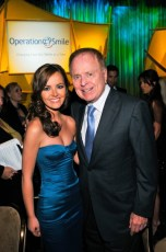 With Mayor Riorden at the Operation Smile Gala in LA