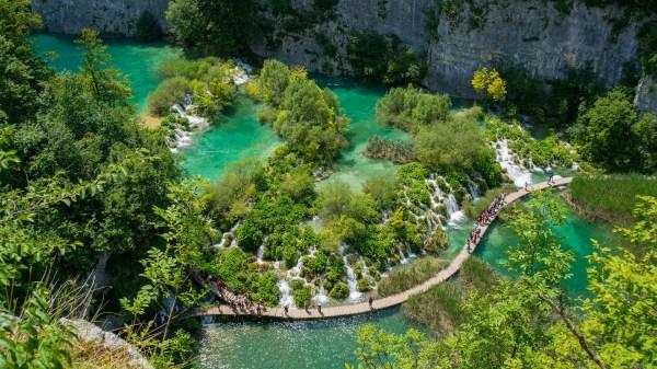 natural wonders of europe - plitvice