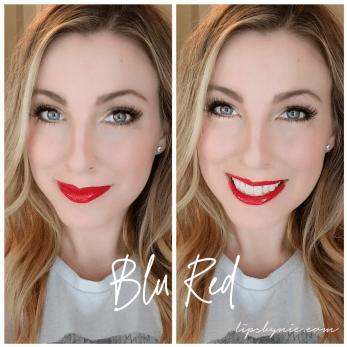 Blu Red LipSense Selfie