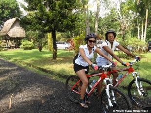 Biking in Ubud