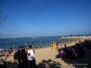 Locals on the beach