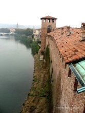 View from Ponte Scaligero