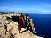 Nicole on the edge