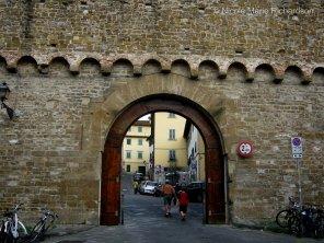 Roman door through the city wall