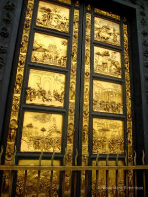 """""""The Gates of Paradise"""" at the Battistero in Firenze"""