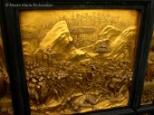 """One of the Panels on """"The Gates of Paradise"""" at the Battistero in Firenze"""