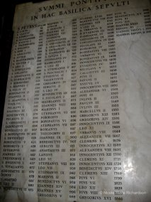 San Pietro list of popes