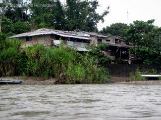 Waterside hut