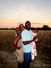 Tangeni and his beautiful family