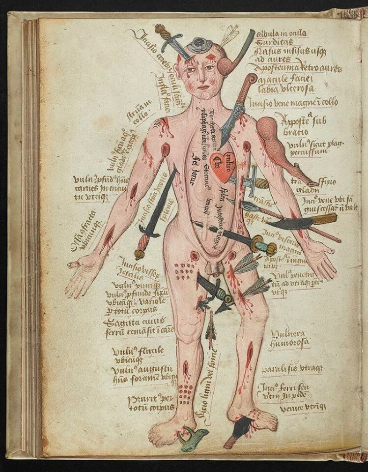manuscrit 15 eme siècle