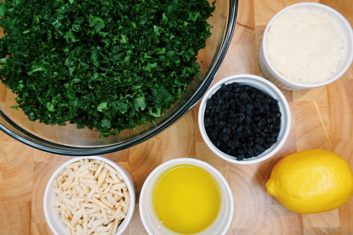 The Best Kale Salad EVER
