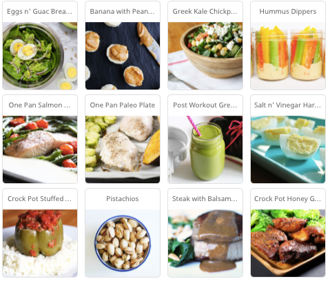 High Protein Low Carb Meal Plan