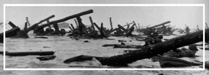 """Capa was only the photographer to get photos successfully back for publication. Curiously this image be responsible for the wooden obstacles in """"Saving Private Ryan"""" being around the wrong way. In this picture the elevated parts point the beach. In film they point out tp sea rendering them useless."""