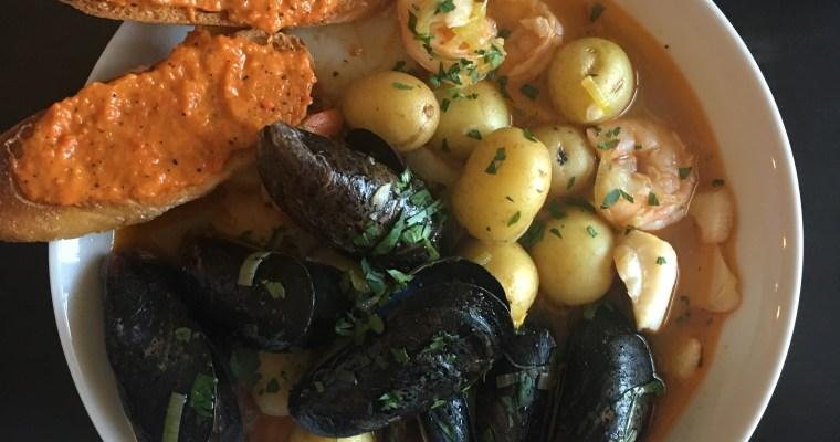 Sunday # 11: LA BOUILLABAISSE MARSEILLAISE (Seafood Stew)