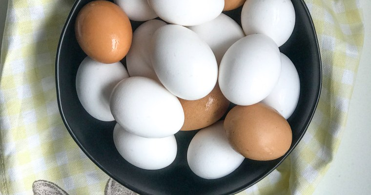 The Perfect Hard Boiled Egg.