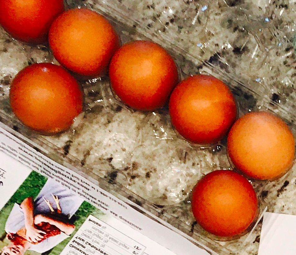 What's in a carton of eggs?