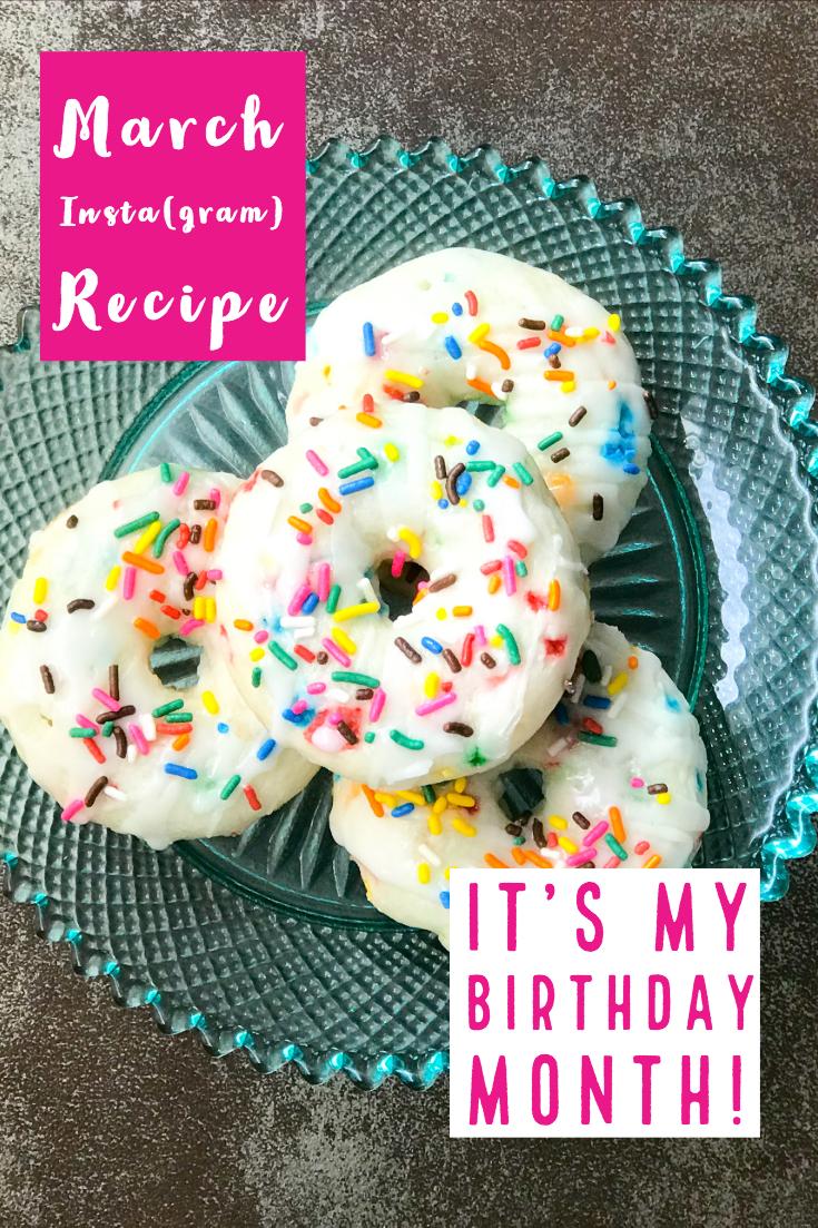 Sprinkle Cake Donuts