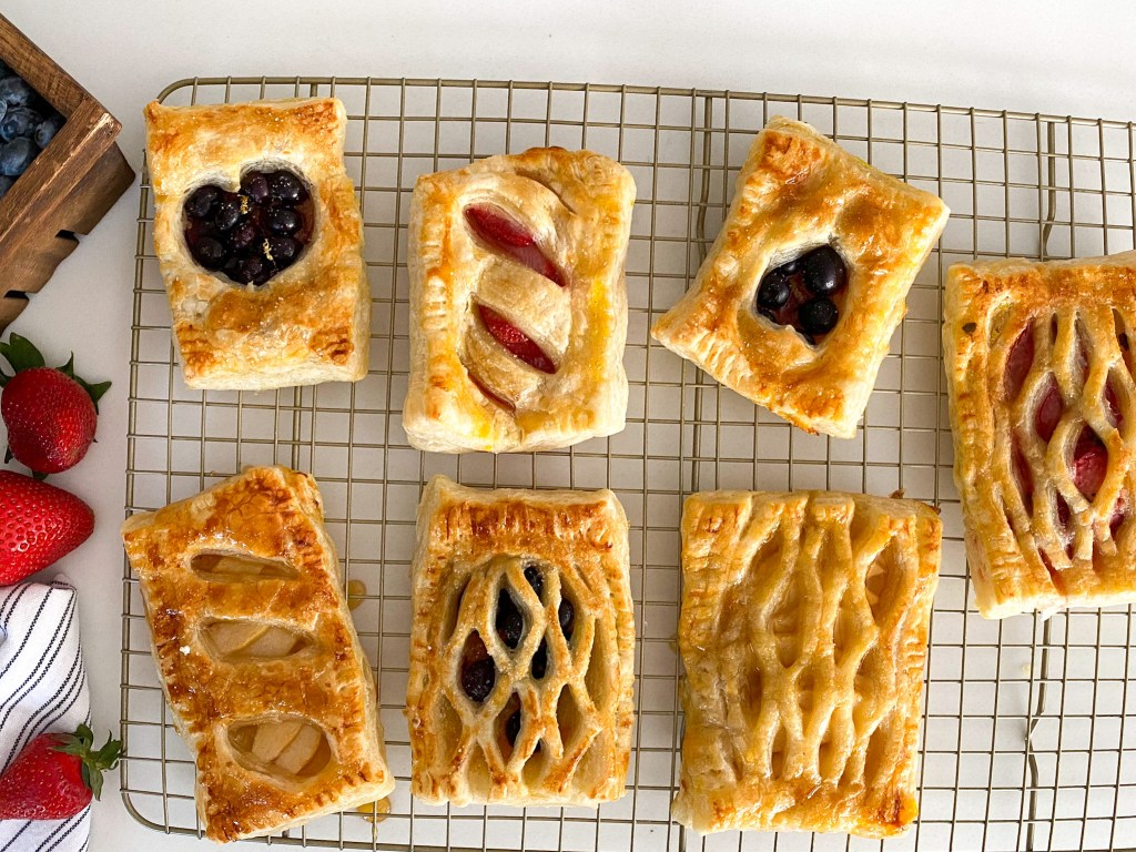 "Puff Pastry ""Pop Tarts"" (Sweet or Savory)"