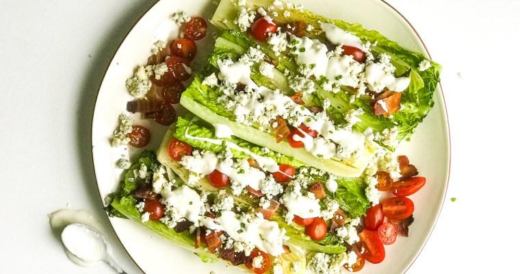 Grilled Salad Wedges