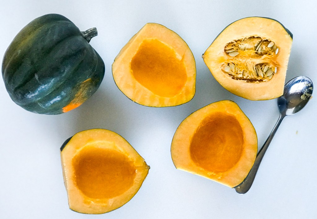 Easy Stuffed Acorn Squash