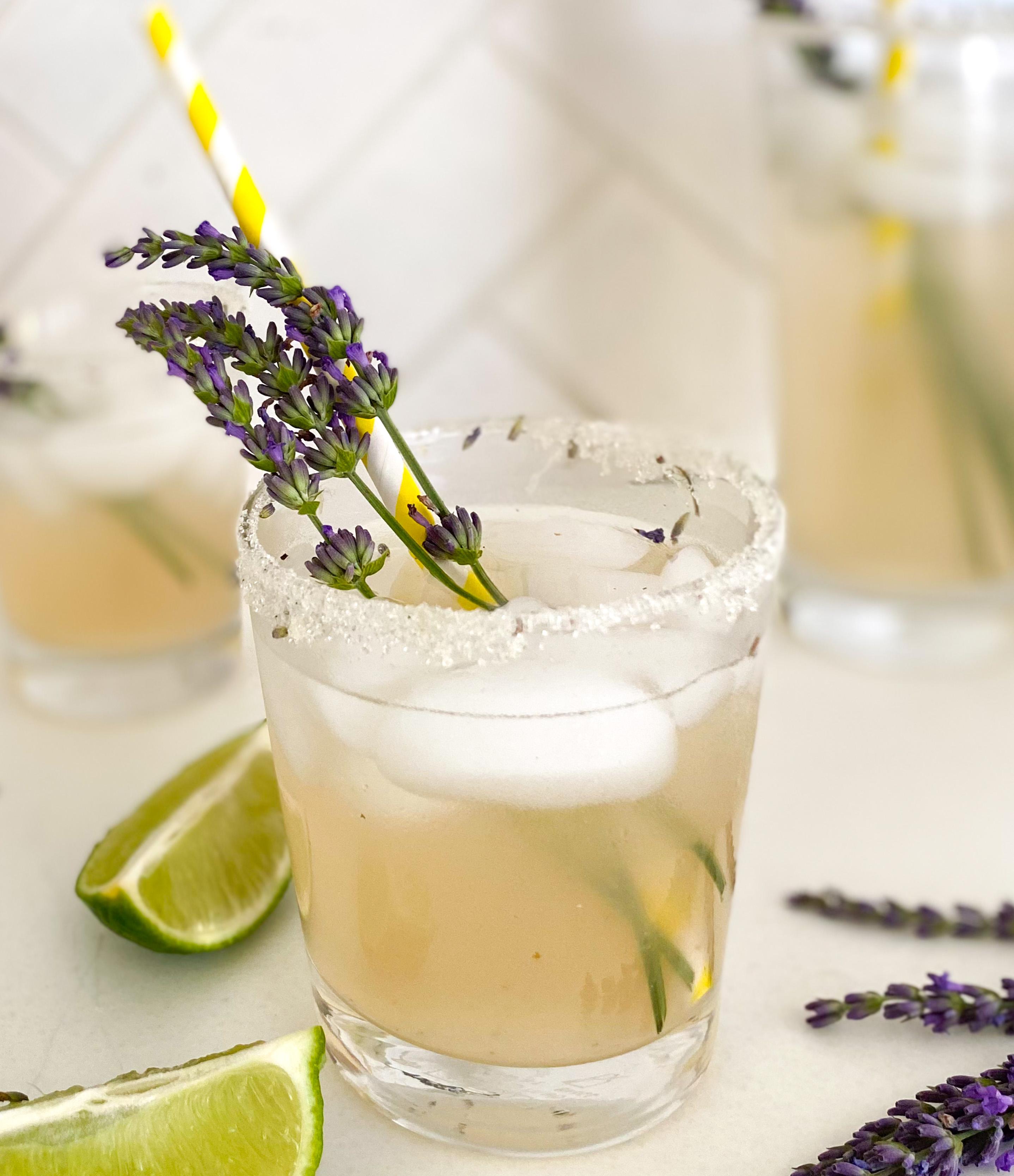Backyard Vanilla Lavender Margarita