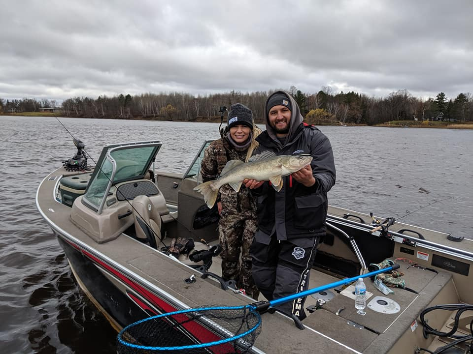 Rainy River Walleye