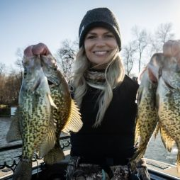 Nicole Stone Outdoors Crappie