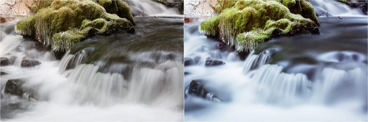 (Left) 0.7 sec; (Right) 30 sec — © Nicole S. Young (nicolesy.com)