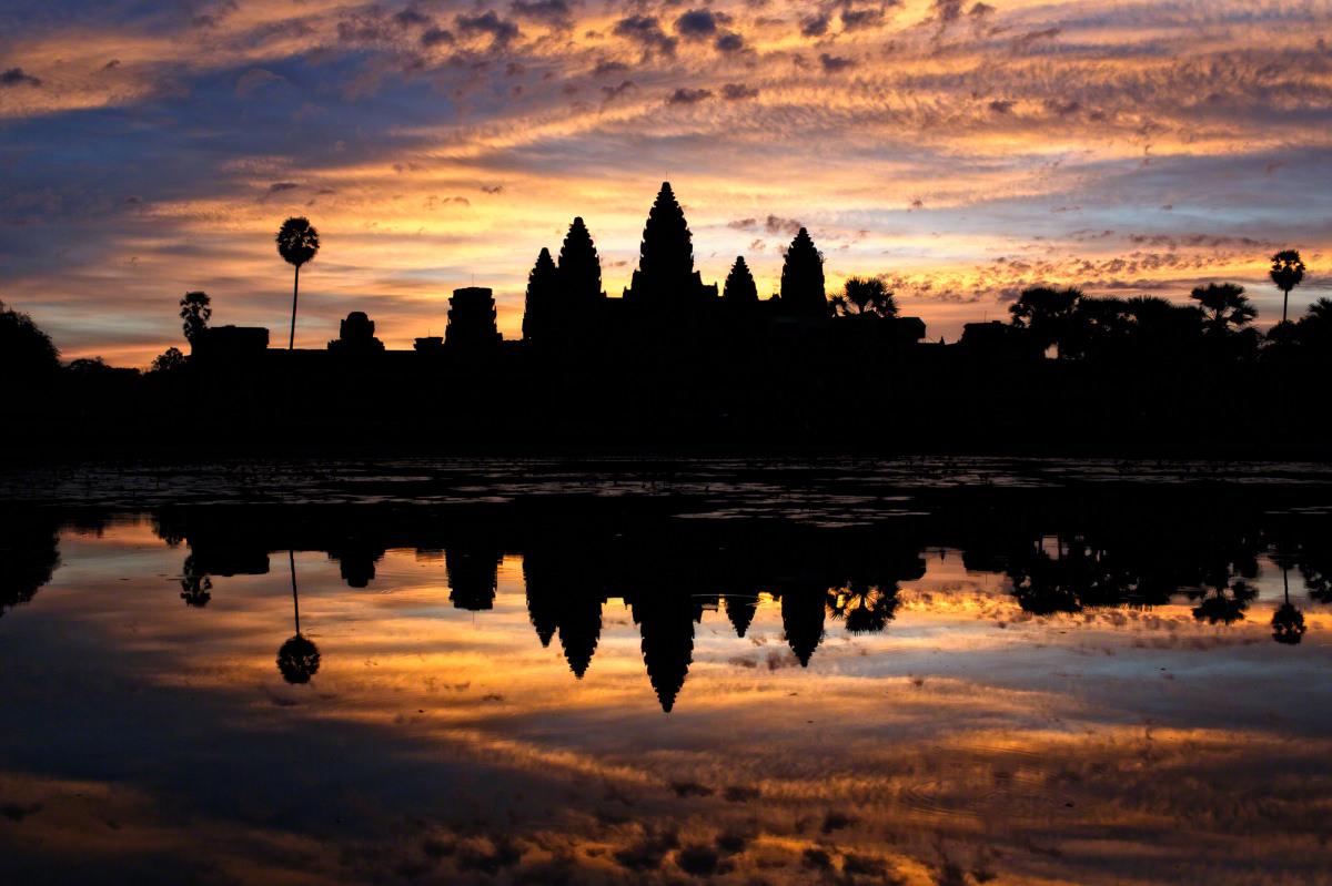 """""""Fire"""" — Angkor Wat, Cambodia"""