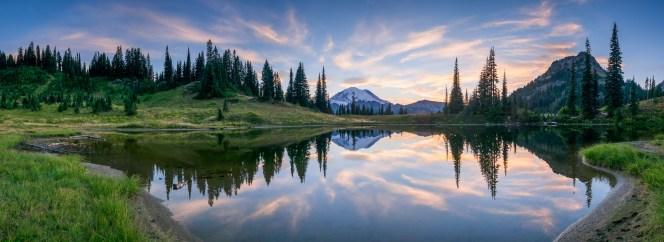 Mount Rainier at Tipsoo Lake
