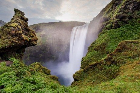 Seeing Skogafoss in Iceland. © 2015 Nicole S. Young - All Rights Reserved