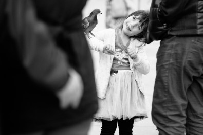 Photographing B&W in Venice.
