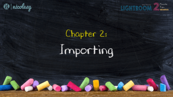 Chapter 2: Importing
