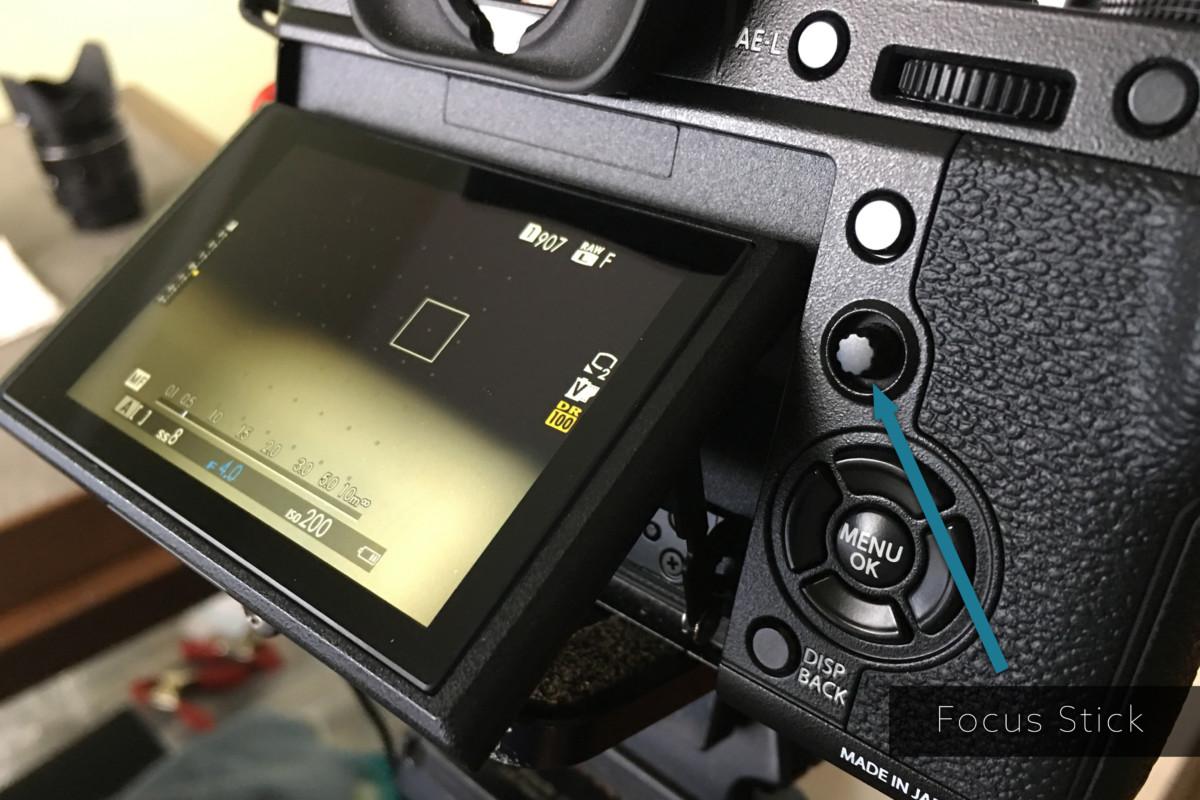 FUJIFILM X-T2 Focus Stick