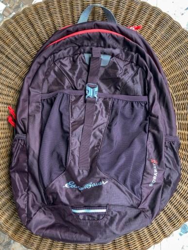 Eddie Bauer 30L Stowaway bag